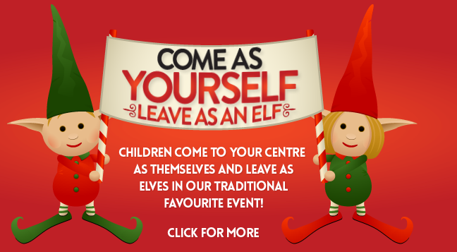 Come as Yourself Leave as An Elf